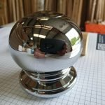 axxys ball newel cap chrome finish product image